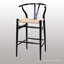 Popular Wood Bar Use Y Cadeira com Perna De Madeira Sólida