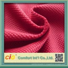 Velours en velours velours à cheveux court avec brosse Warp-Knitting Shsf04681