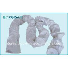 Bolsa de filtro de fibra de vidrio tejida con membrana de PTFE