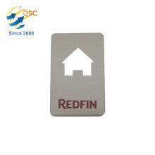 Factory wholesale cheap custom credit card shape metal bottle opener