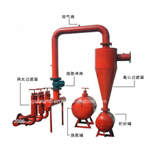 Filtro durável da bacia do concentrador para a irrigação