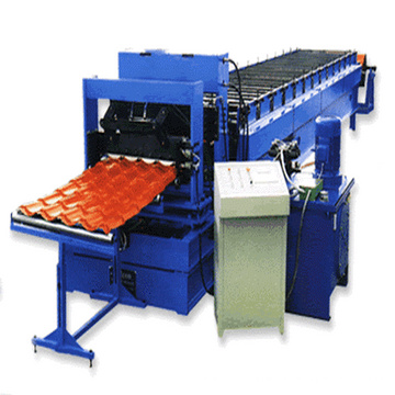 Color Metal Roofing Tile Roll Forming Machine