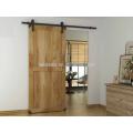Guía de piso de la puerta del granero Rodillo de la estancia negro para la parte inferior de la puerta deslizante