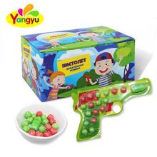 Fruity Flavor Gun Shaped Bubble Gum Watermelon Bubble Gum