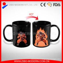 Tasse magique sensible à la chaleur et à chaud, tasse à changement de couleur pour cadeau promotionnel