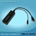 Neuer aktiver PoE POWER ÜBER ETHERNET SPLITTER 5V 9V 12V FÜR IP-KAMERA / IP-TELEFON IEEE 802.3 gut