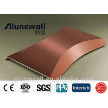 3mm 4mm Copper Composite Panel CCP with maximum 2.03 meter width Chinese factory