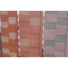 Residential Stone Chip Coated Metal Roofing Sheet / Tile For Corrugated Roof
