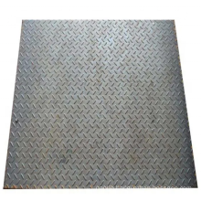 1.5-12mm thick Foot Floor Plat Hot Rolled Mild Steel Checkered Plate with  Pattern