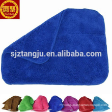 China factory coral fleece washcloth micro fibre rags cleaning cloths