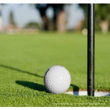 Césped artificial rizado PE para golf