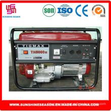 3kw Tigmax Th5000dx Petrol Generator Key Start for Power Supply