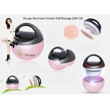 Electronic Powder Puff Beauty Machine Facial Massager