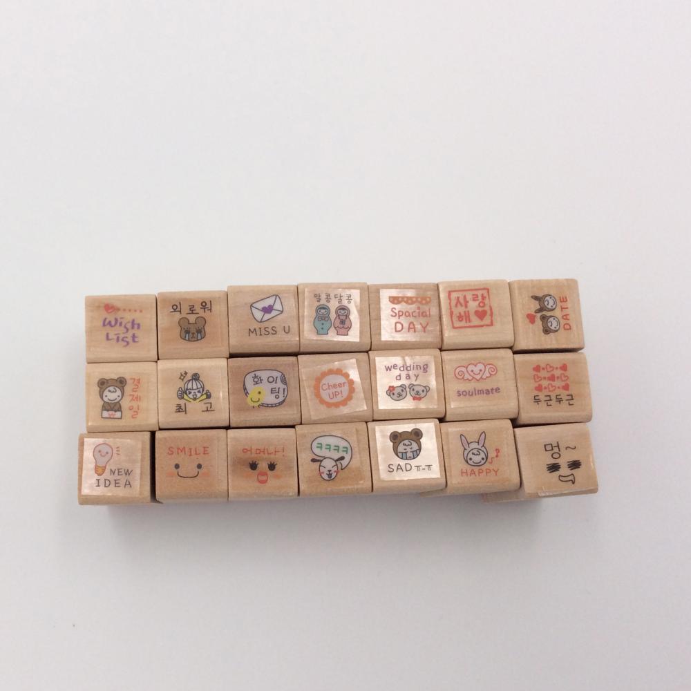 Wooden Stamp Handle