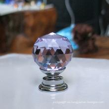 Precio barato de decoración del hogar artesanías de cristal para muebles