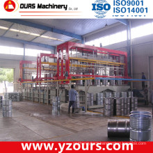200L Barrel Plating Line, U-Shaped Automatic Rack Plating Line