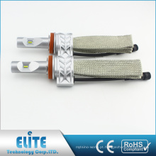 5S LEVOU Kit Farol 9012 4000LM 6500 K Fanless PHI ZES CSP Único Feixe Super Branco Lâmpada Farol de Condução