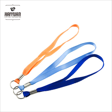 Custom Keychain Short Nylon Lanyard for Mobile Holder