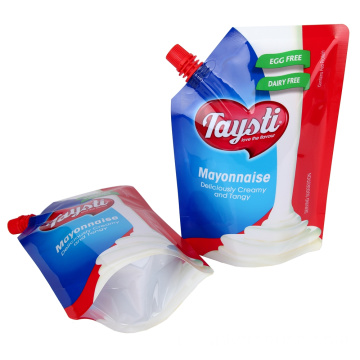 Mayonaise Voedselverpakking Stand Up uitloop Pouch