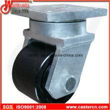 Ruedas giratorias de 6 pulgadas de trabajo extra pesado con rueda de acero de ancho