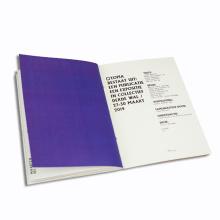 Impression polychrome personnalisée de brochure de couverture souple