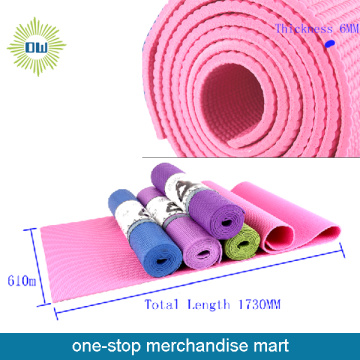 Travel natural custom printing tpe yoga mat