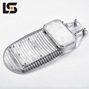 Carcaça de alumínio fundida de moldagem personalizada para luz de rua