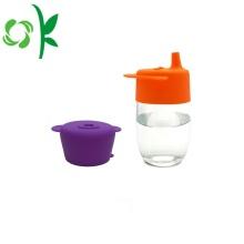 Tapas no tóxicas de la taza de la paja del café del silicón para los niños