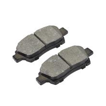D831 customizable replacing vehicle black metal break pad factory supplies car brake pads for TOYOTA Echo