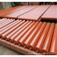 belt conveyor carrier roller idler impact roller idler rubber cover conveyor roller drive pulley