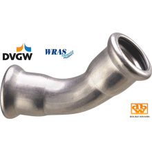 Stainless Steel 45 Obtuse Elbow
