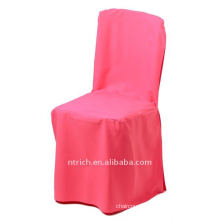 polyester chair cover,CT397 hot pink color ,banquet chair cover,200GSM best quality