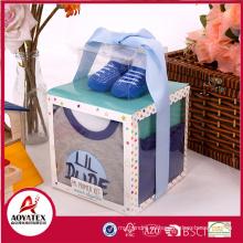 Caja de regalo de 4 piezas Ropa de bebé de algodón de 19-24 meses