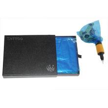NUEVOS bolsos desechables de la cubierta de la máquina del tatuaje azules