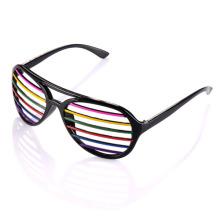Atraente design partido óculos (sz987)