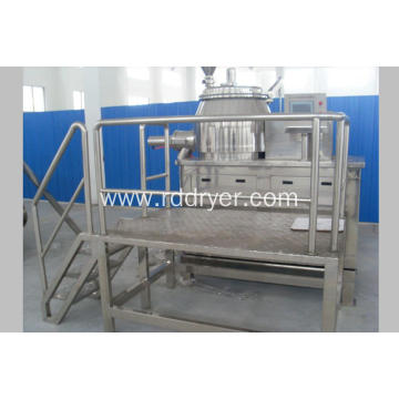 High efficiency wet mixing granulator for pickled material
