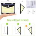 208LED Solar Waterproof Motion Sensor Flood Light