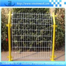Ограждение барьер используется в дорожном