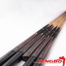 Vente chaude haut de gamme érable en gros TB-JY-9 snooker baguette 3/4