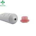 Tubo de limpieza facial de plástico de aluminio de 100 ml con tapón octogonal