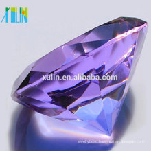 Crystal Glass Diamond Jewelry 80mm For Indian Wedding Gifts For Guests