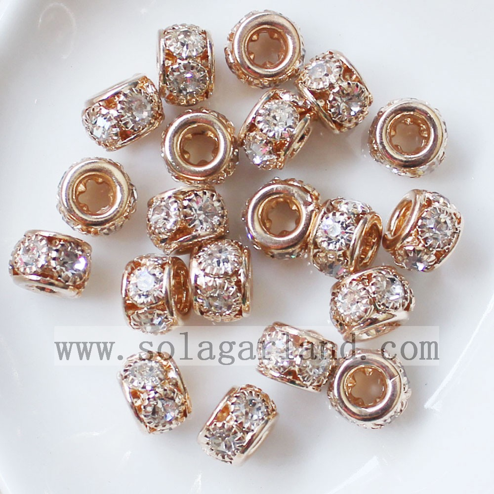 8MM Metal Spacer Beads