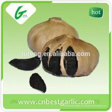 Polvo de ajo fresco negro