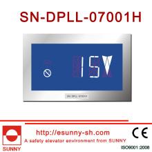 Horizontal Display de 7 segmentos para el elevador (CE, ISO9001)