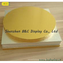 Aluminiumfolie-Papier bedeckte die MDF-Kuchen-Trommeln mit SGS (B & C-K035)