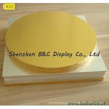 Различные формы Золотой фольги бумаги торт барабаны с SGS (B и C-K024)