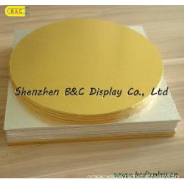 Aluminium Foil Paper Coverd The MDF Cake Drums with SGS (B&C-K035)