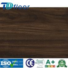 Plancher de vinyle de PVC de bois de pierre de luxe