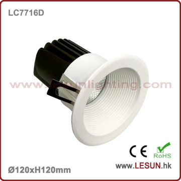 New Product 12W LED Recessed Downlight with White Color LC7716D