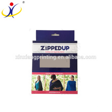 O costume imprimiu a embalagem de varejo de suspensão para o empacotamento varejo da caixa da venda para o empacotamento original da caixa de papel